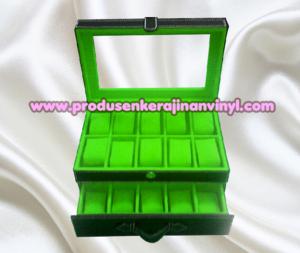 kerajinan-box-jam-isi-20-pcs-warna-hitam-kombinasi-hijau