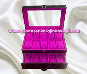 kerajinan-box-jam-isi-20-pcs-warna-hitam-kombinasi-ungu