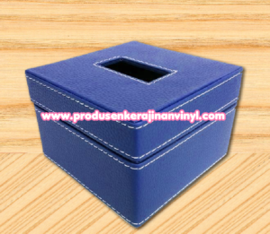 kerajinan-box-tisu-kecil-warna-biru