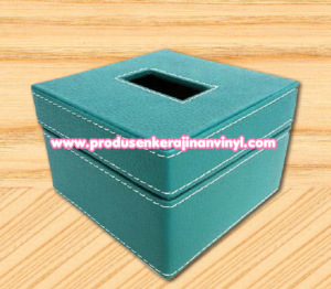 kerajinan-box-tisu-kecil-warna-biru-muda