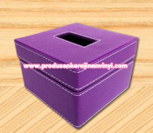 kerajinan-box-tisu-kecil-warna-ungu