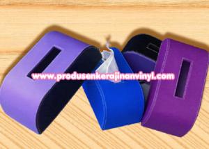 kerajinan-vinyl-box-tisu-rounded-ungu