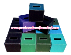 souvenir-kerajinan-box-tisu-kecil-aneka-warna-biru