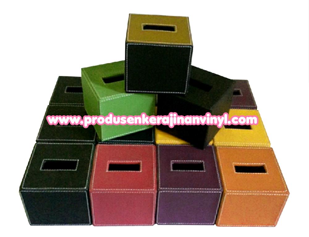 Souvenir Kerajinan Box Tisu Kecil Aneka Warna